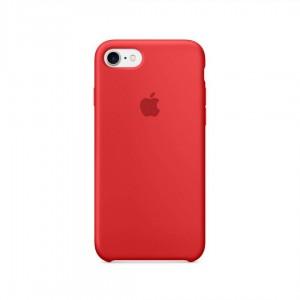 AL IPHONE 7 SILICON CASE RED