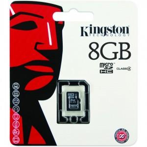 MICROSDHC 8GB CL4 W/O ADAPTER KS