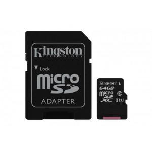 MICROSDHC 64GB CL10 UHS-I KS W AD SD