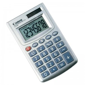 CANON LS270HBL CALCULATOR 8 DIGITS