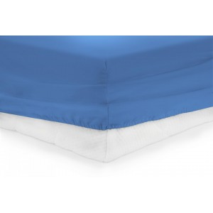 CEARCEAF PAT CU ELASTIC 180X200 CM -BLUE