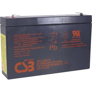 UPS CSB  6V/9Ah;34W/Cell HRL634WF2