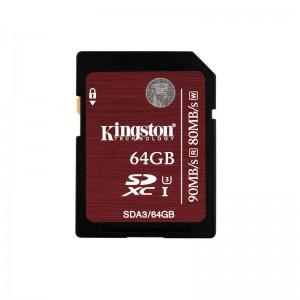 SDXC 64GB CL3 UHS-I KS