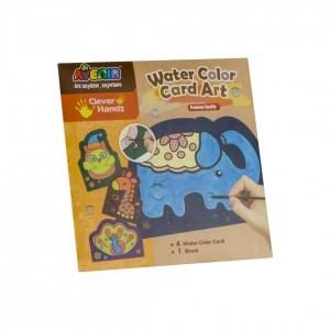 Sa coloram cu apa