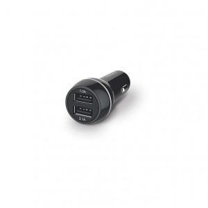 DUAL CAR CHARGER, 5V/3.1A – 15.5W
