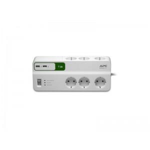 APC PREL 6 PRIZE SCHUKO 2 X USB