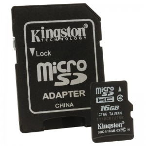 MICROSDHC 16GB CL4 KS