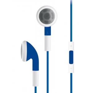 SERIOUX IN-EAR HEADPHONES VOL CTRL BLU