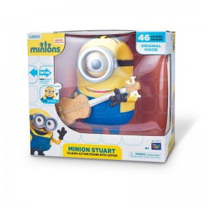 MINIONS - Figurina  interactiva Stuart