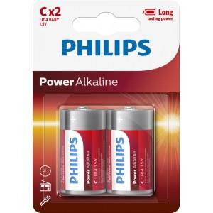 PH POWER ALKALINE C 2-BLISTER