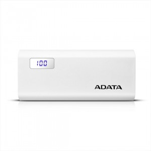 POWERBANK ADATA P12500D 12500MAH WHITE