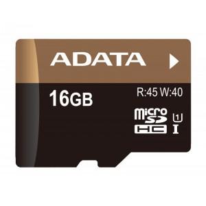MICROSDHC 16GB CL10 ADATA SDH16GUICL10-R