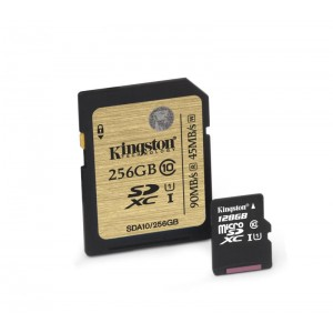 SDXC 256GB CL10 UHS-I KS