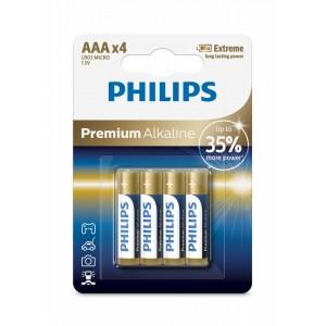 PH PREMIUM ALKALINE AAA 4-BLISTER