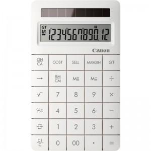 CANON XMARKII WHITE CALCULATOR 12 DIGITS