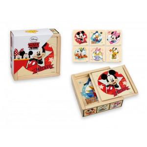 Puzzle de lemn, Minnie si Mickey