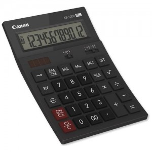 CANON AS1200 CALCULATOR 12 DIGITS