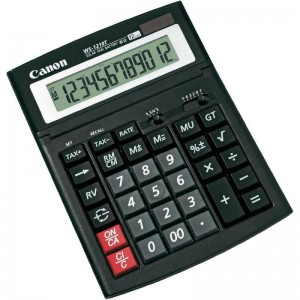 CANON WS1210T CALCULATOR 12 DIGITS