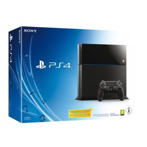 CONS SONY PS4 500GB C CHASSIS BLACK
