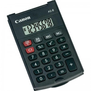 CANON AS8 CALCULATOR HANDHELD