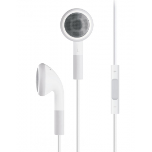 SERIOUX IN-EAR HEADPHONES VOL CTRL WHT