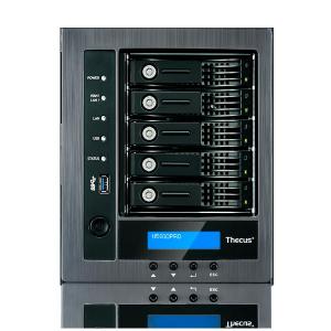 THECUS NAS 5BAY TWR INTEL J1900 4GB