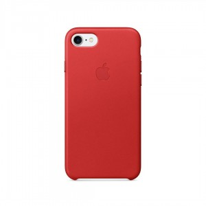AL IPHONE 7 LEATHER CASE RED