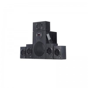 BOXE SW-HF 5.1 4500 GENIUS WOOD BLACK