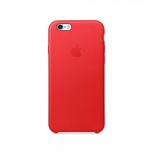 AL IPHONE 6 LEATHER CASE RED