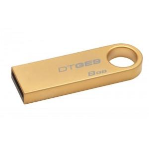 USB 8GB USB 2.0 DT GE9 GOLD METAL KS