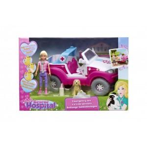Rescue Hospital - Ambulanta cu figurine