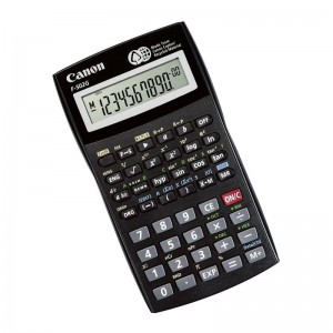 CANON F502G BLACK CALCULATOR 12 DIGITS
