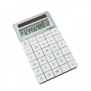 CANON XMARKP1WH CALCULATOR 10 DIGITS