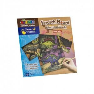 Planse pentru sgraffito- Lumea dinozauri