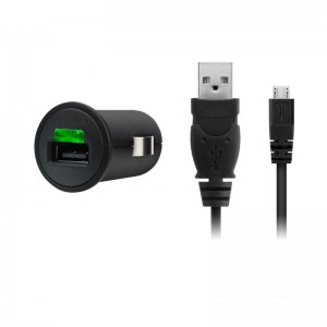 CHARGER AUTO BELKIN 5V 1A MICRO USB CBL