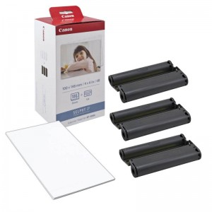 INK CASSETTE / PAPER SET CANON KP108IN