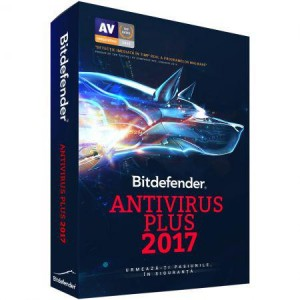 Bitdefender Antivirus Plus 2017 1Y10USR