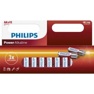 PH POWER ALKALINE AA 12-WIDE
