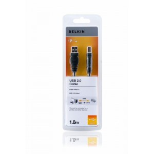 CABLU USB BELKIN AM-BM DSTP 1.8M