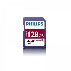 PHILIPS SDXC CARD 128GB CLASS 10