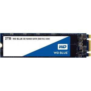 SSD 2TB WESTERN DIGITAL WD Blue 3D NAND, M.2, SATA