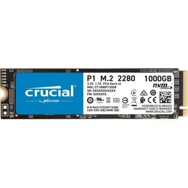 SSD 1TB CRUCIAL P1, M.2, PCIe Gen3