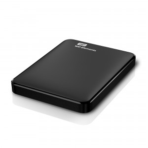 "Hard disk extern WD Elements Portable 1TB 2.5"" conectare USB"