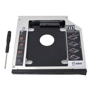 "Adaptor HDD 2.5"" S-ATA -> Unitate optica Laptop S-ATA 12.7mm"