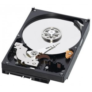Hard disk  320 GB S-ATA  Western Digital