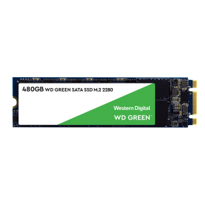SSD 480GB WESTERN DIGITAL WD Green 3D NAND, M.2, SATA