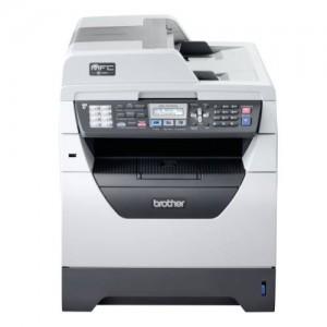 Multifunctionala Brother 8380DN laser, xerox, copiator, scaner, FAX alb - negru, cartus incarcat pt 8.000 pagini