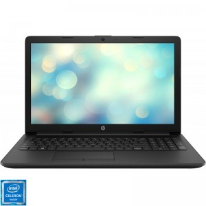 Laptop HP 15-da0194nq cu procesor Intel Celeron N4000 pana la 2.60 GHz, Gemini Lake, 4GB DDR4, SSD 256GB, USB 3.0, LED 15.6""