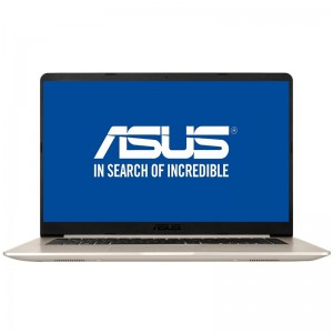 "Laptop ASUS S510UA-BQ423 cu procesor Intel Core i5-8250U, pana la 3.4 GHz, Kaby Lake, 8GB DDR4, SSD 256GB, USB 3.1, LED 15.6"" Full HD"