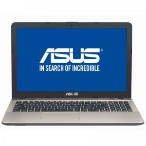 Laptop ASUS X541UV-GO1047T cu procesor Intel Core i3-7100U, 2.4 GHz, Kaby Lake, 4GB DDR4, 1TB, GeForce 920 MX 2GB, LED 15.6""